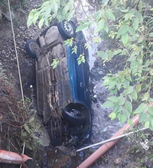Dois acidentes com danos materiais em Seara e região.