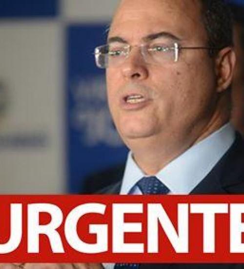 Governador do RJ testa positivo para Coronavírus.