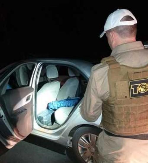 Polícia apreende mais de 300 kg de maconha em Chapecó.