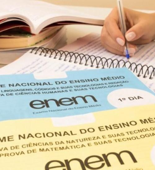 MEC vai abrir consulta sobre novas datas do Enem.