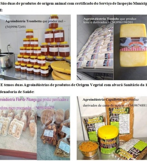 Itatiba do Sul: Agroindústria familiar na merenda escolar