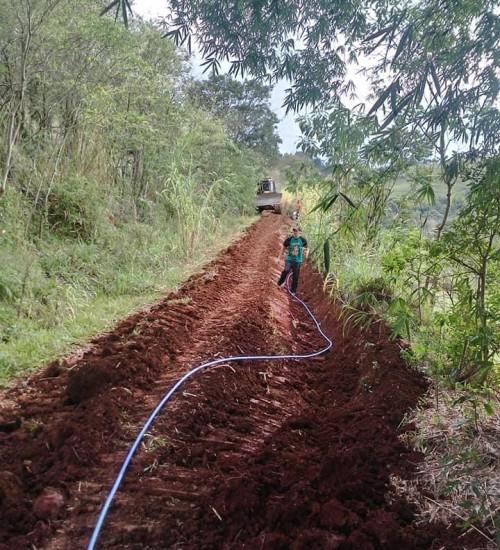 Água potável para as famílias Itatibenses.