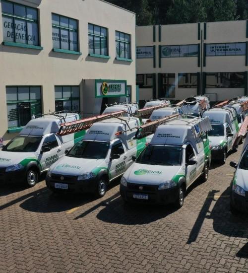 Creral Telecom adquire novos veículos para ampliação de atendimento.