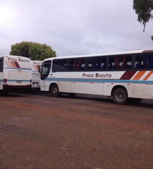 Empresa Praia Bonita informa dias e horários de ônibus de Itatiba do sul para Erechim.