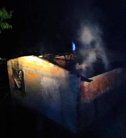 Incêndio destrói residência no interior de São Valentim.