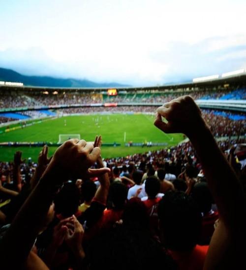 Ministério da Saúde autoriza público nos estádios em jogos da Série A do Campeonato Brasileiro.