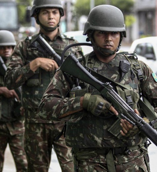 Forças Armadas vão reforçar segurança em 7 estados nas eleições.