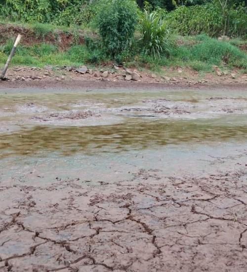 Ações emergências de enfrentamento a estiagem em Itatiba do Sul.