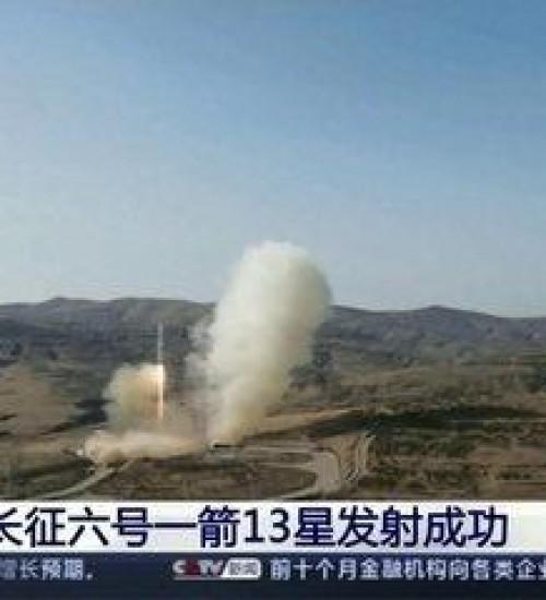 China coloca em órbita o primeiro satélite com tecnologia 6G do mundo.