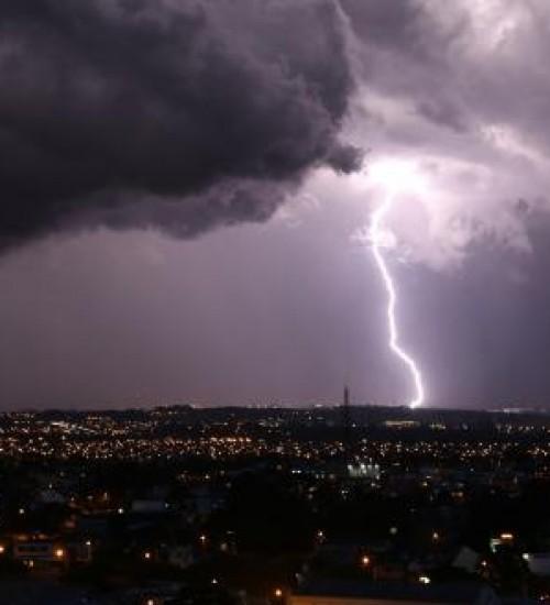 Chuva e temporais serão frequentes nos próximos dias no RS.