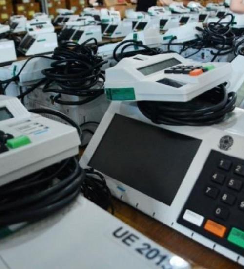 Transporte das urnas eletrônicas será realizado a partir de sexta-feira (13)