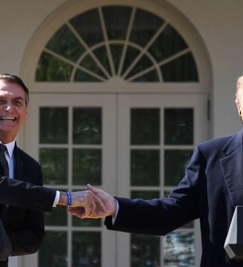 Bolsonaro volta a dizer que houve fraude nas eleições para a presidência dos Estados Unidos.