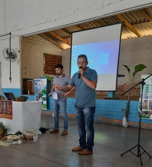 Itatiba do Sul: Encontro com produtores orgânicos.