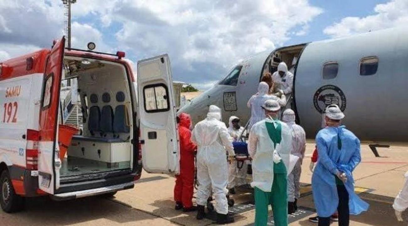 Chapecó vai transferir pacientes com Covid-19 para o Espírito Santo.
