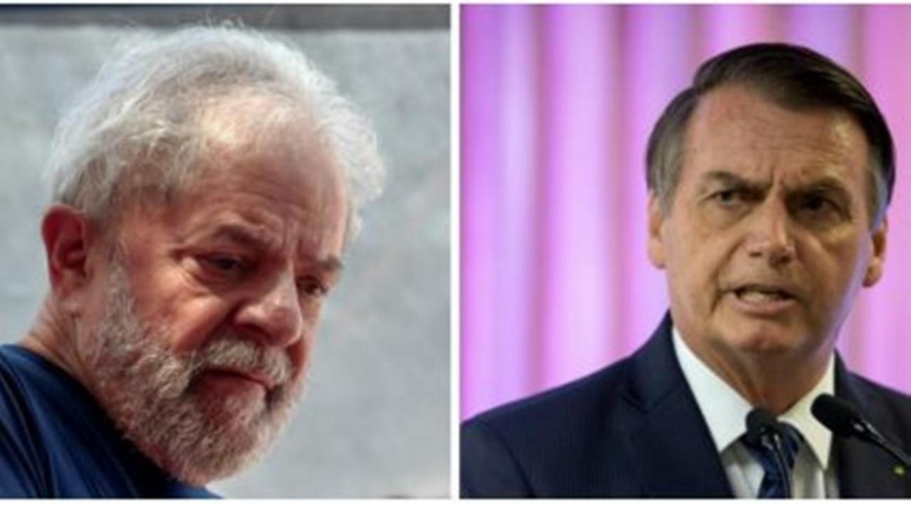 Lula e Bolsonaro estão empatados tecnicamente na disputa das eleições de 2022.