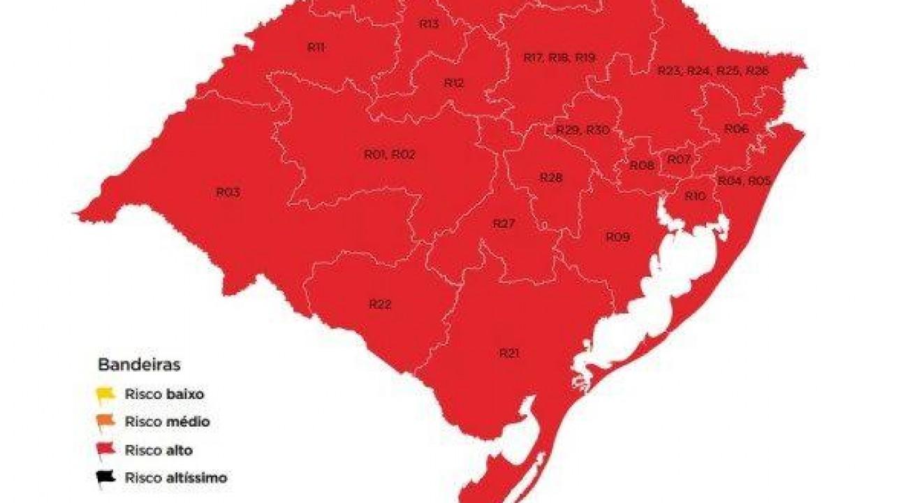 O Rio Grande do Sul se despede das bandeiras pretas.