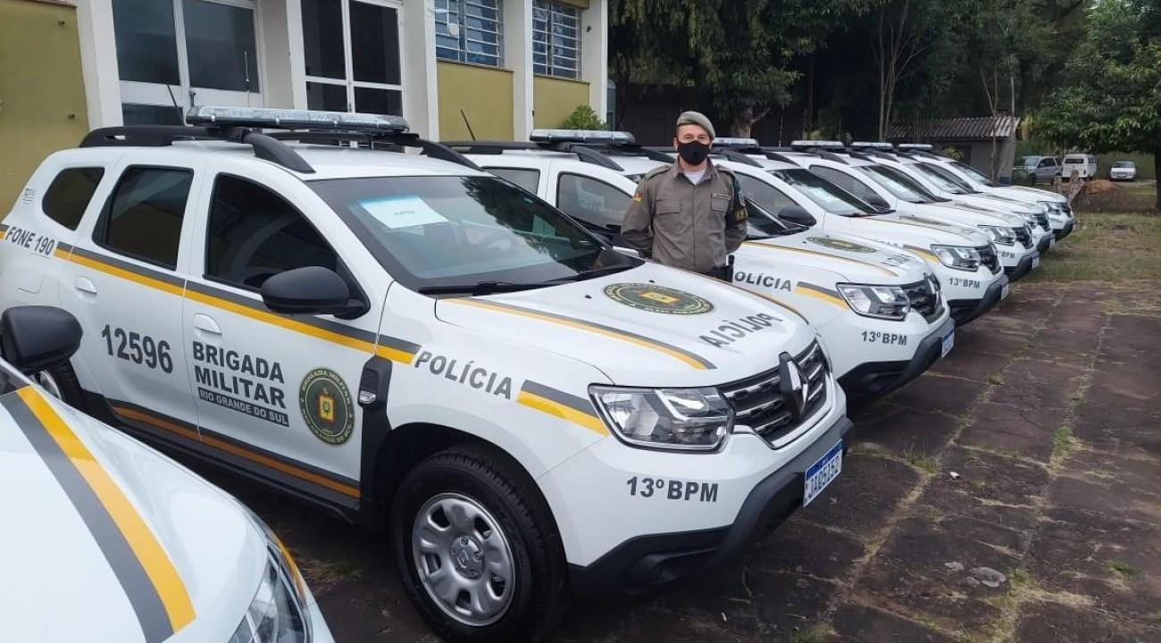 Brigada Militar de Itatiba do Sul recebe nova viatura.
