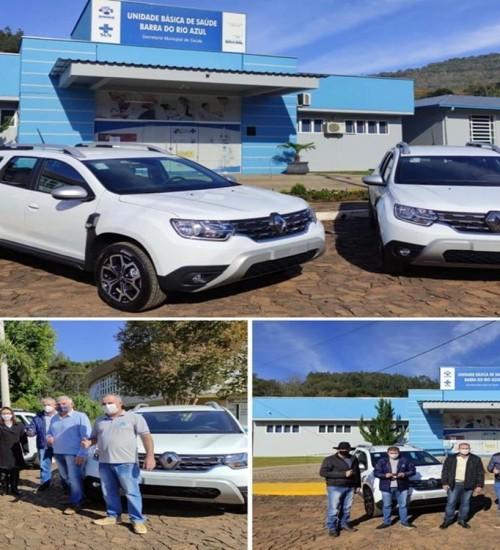 Prefeitura de Barra do Rio Azul adquire novos veículos.