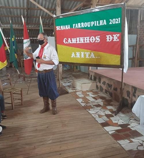Atividades da semana farroupilha em Itatiba do Sul.
