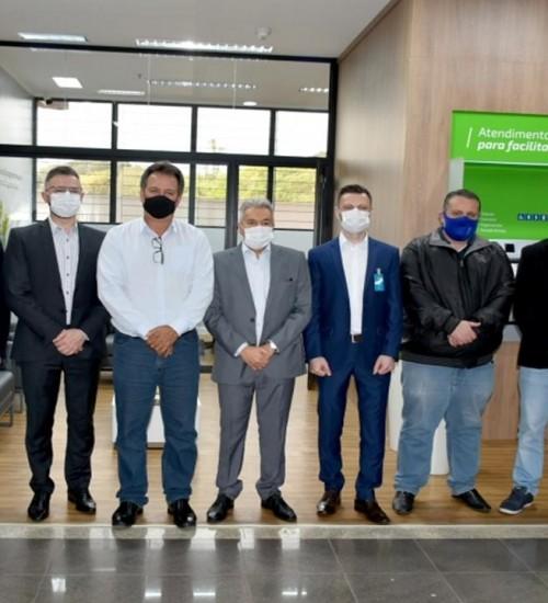 Sicredi UniEstados e Hospital de Caridade de Erechim inauguram o Espaço Sicredi HC.